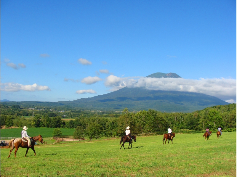 [Riding in Hokkaido Niseko] introduction image of horse trekking (60 minutes)