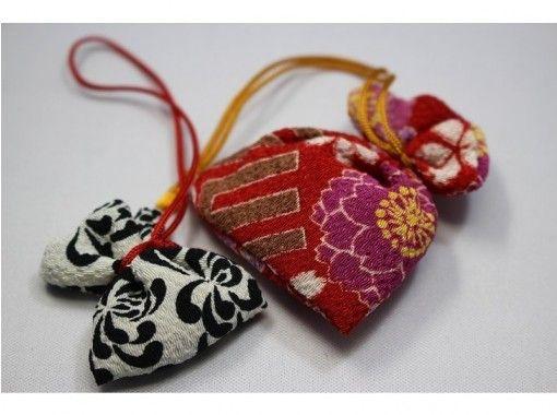 【京都・二条城北】京都土産にぴったりの匂袋作り体験!観光の合間に気軽に体験できます!の紹介画像