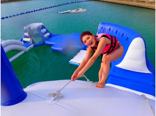 """[Okinawa / Chatan] << Regional coupons are OK! """"★ Year being held ★ \ children -adult go at sea Athletic / ship up to exhilarating × excitement Sea Park [Sea Park Chatan]の紹介画像"""