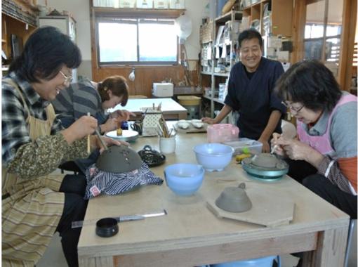 【群馬・渋川伊香保】ろくろ陶芸体験1品作成(粘土500g使用)6才から体験できます!