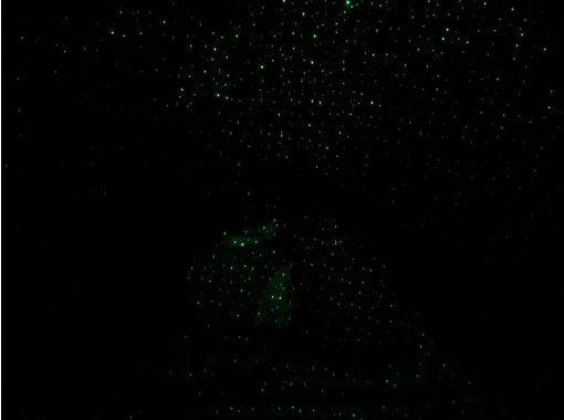 [長野/大町市]螢火蟲對青木湖和青木湖星空(夜晚)湖面漫步/青木湖星空(夜晚)湖面漫步繁星點點的天空升空3年〜可以參加の紹介画像
