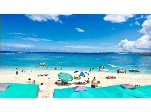 【沖縄・名護】ジェットスキー  ツーリング!!サンセット 瀬底島&水納島コース(免許なし)