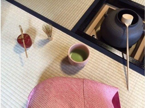【京都・金閣寺より徒歩1分】貸切で、着付け×茶道×いけばな体験の紹介画像