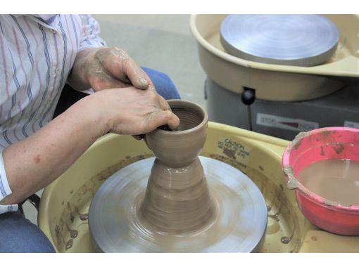 【兵庫・明石】イメージを現実に変える楽しさを実感!「 電動ろくろ陶芸体験」陶芸初心者から上級者にも楽しめます!の紹介画像