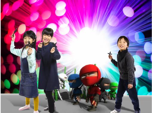 <京都・VR体験!>超リアル!ド迫力!最新VR忍者アトラクション!(フルアトラクションコース)