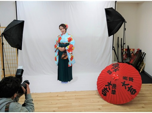 [Tokyo / Asakusa] Kimono / Yukata studio shooting plan (no going out) Recommended for overseas customers!の紹介画像