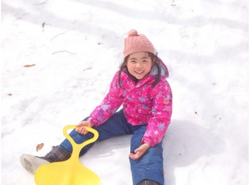 """[Tochigi ・ Nasu] It is the first time to go with the guide """"Kumasan"""" who knew all about Nasu Snowshoes& Snow play ♪の紹介画像"""