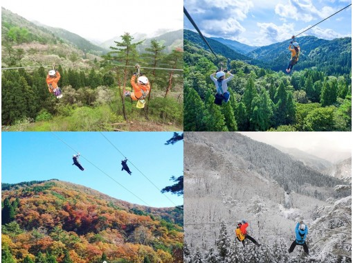 【福井・池田町】日本最大級!長さ510mのメガジップラインを体験の紹介画像
