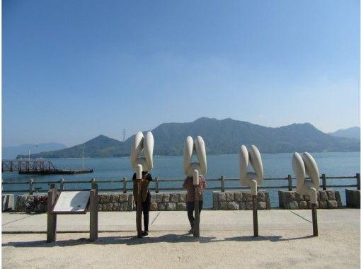 【1名様から催行】うさぎの楽園で癒しの自転車散歩!大久野島ポタリング 【尾道駅から無料送迎あり】