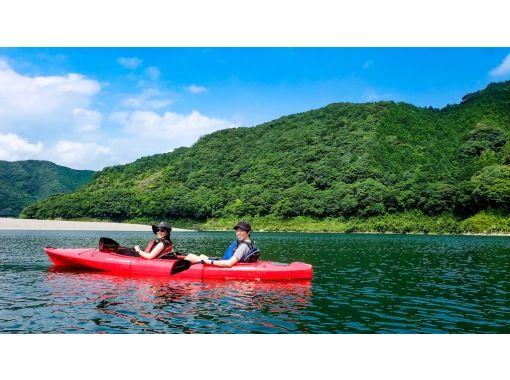 【四万十川で2人乗りカヌー体験!(1時間) 】沈下橋の周りでおてがるカヌー体験!