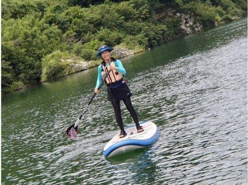 【徳島・吉野川】気軽に静水SUP体験 1時間コース(5歳から参加OK!)