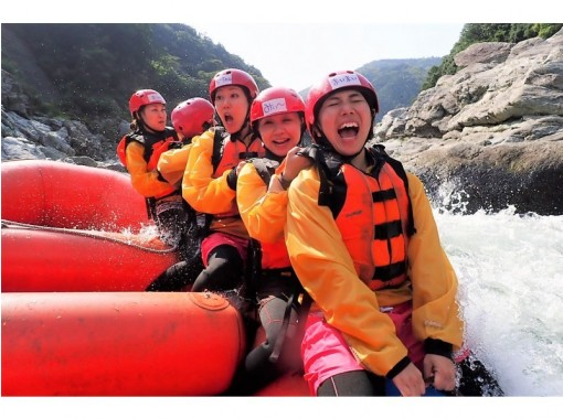 [Tokushima ・ Yoshino River ・ Rainfall River going down】 Yoshino River half-day course【 Rafting]の紹介画像
