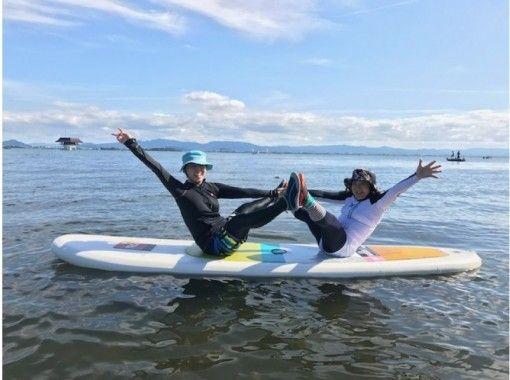 【滋賀・琵琶湖】初心者も安心!SUPヨガ60分コース