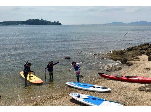 【愛知・蒲郡】  中級者向け 三河湾SUP de IslandCruisingTourの紹介画像