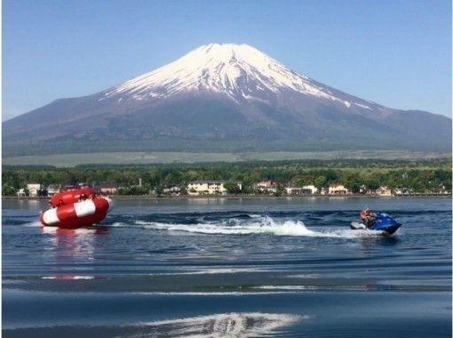 【山梨・山中湖】お得セット・フライボード15分+ハリケーンボート(団体割引あり)