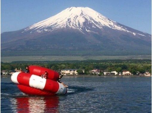 【山梨・山中湖】お得セット・ジェットパック15分+ハリケーンボート(朝コース)団体割あり