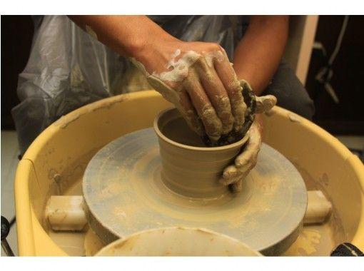 【大阪・天王寺】陶芸体験教室・キャンドルシェードづくりコース