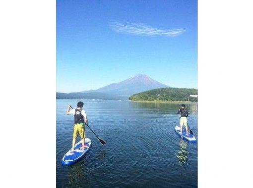 【山梨/山中湖】香蕉船&SUP體驗!の紹介画像