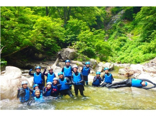 [群马-Minakami-Canyoning]自然景点谷玩溪降游(半天)の紹介画像