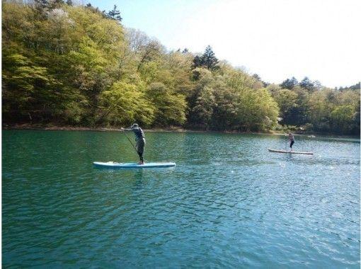 神秘の湖 SUP水上散歩会