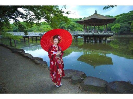 [奈良/奈良]結婚典禮前的位置照片!有豐富的和服和頭髮妝!の紹介画像