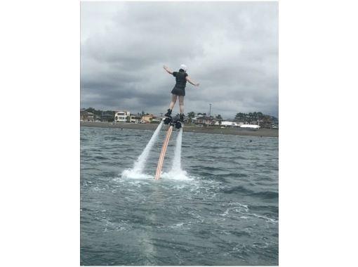【千葉・南房総市】初心者も大歓迎!「ジェットブレード」で空中浮遊体験 の紹介画像