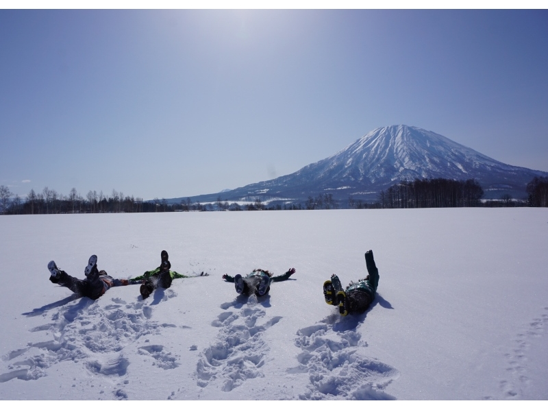 [Hokkaido Niseko] Snow Hike tour <group plan> to 1 set limitation of the private system, photo data with ♪ ~ Introducing image