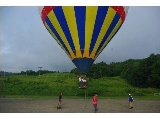 【 Hokkaido · Furano】 hot air balloon Mooring Flight (Morning Flight · Sunset Flight)の紹介画像