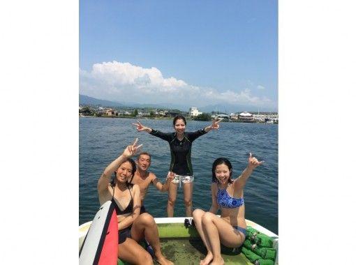 【滋賀・大津】琵琶湖★ウェイクサーフィン体験