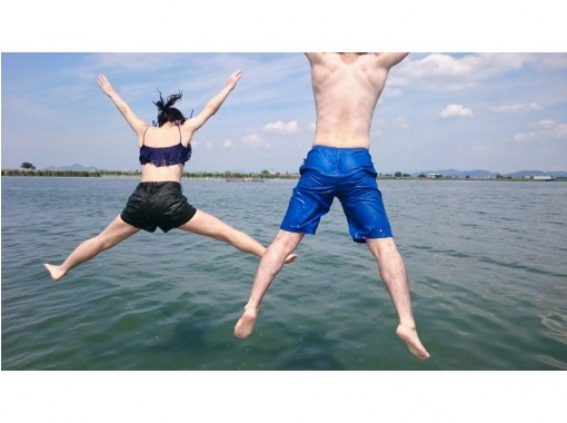 【滋賀・琵琶湖・ウェイクボード】経験者向け!フリートーイング(15分×1セット)