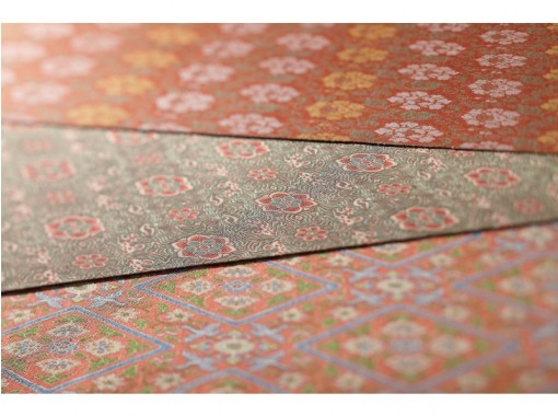 [Kyoto] Weaving experience-Weaving brocade (twill weaving) & workshop tour! Touch the best art and history!の紹介画像