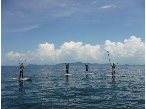 【滋賀・琵琶湖】レンタル込み!水のキレイな琵琶湖Wani BaseでSUP上達コース(経験者向け)