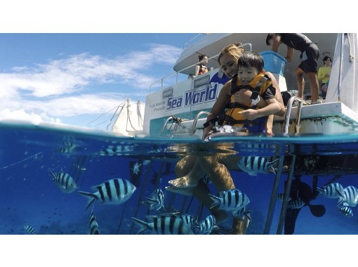 """""""GoTo Travel Coupon Target Store"""" [From Naha, Okinawa] Snorkel Tour & Parasailing (Hanahana Course) in the Snorkel Islandsの紹介画像"""