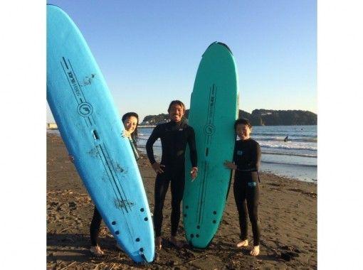 【Kanagawa · Shonan · Enoshima】 Surf School Experience Trial Course 【Bike Move to Enjoy Local Mood】の紹介画像