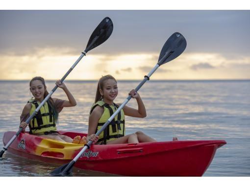 [沖縄-宮古島一旦你想看到美妙的景色♪宮古島日落皮艇遊!淋浴間,吹風機完成風箏の紹介画像