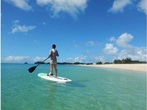 [Okinawa, Kouri Island, SUP] Stand Up Paddle (SUP) experience on Koishima, Kouri Island ☆ With nice benefitsの紹介画像