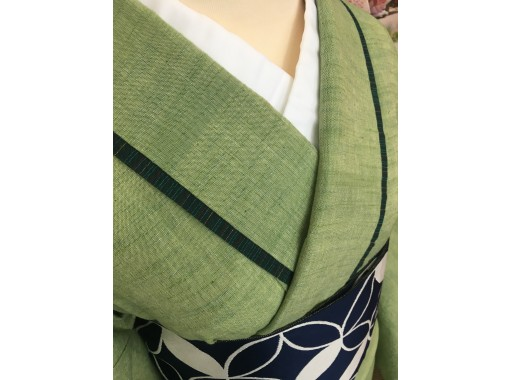 【福島・会津】着物レンタルで城下町散策!「会津木綿」セット(男女あり)