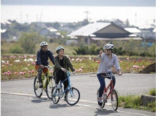 【山陰・大根島】憧れの自転車ライフ!レンタサイクルで島サイクリング!