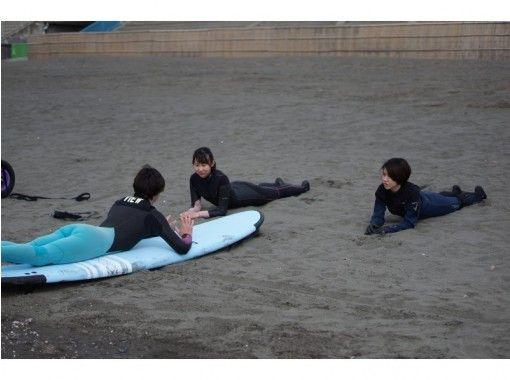 【神奈川・江ノ島】江ノ島で唯一!国際サーフィン連盟公認!ビギナー自立型コーチングレッスンの紹介画像