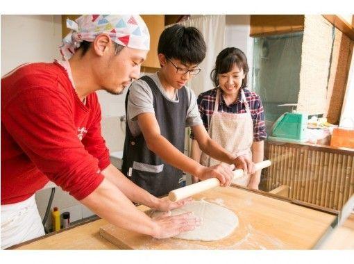 """[京都/嵐山]一組限定的""""正宗蕎麥麵製作經驗""""私人課程(2至10人)の紹介画像"""