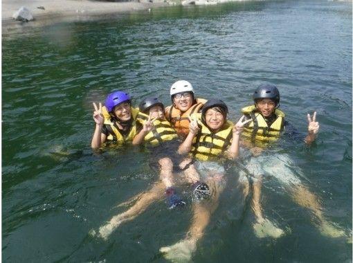 【熊本・人吉】球磨川を親子で楽しもう!ラフティングファミリーコース★写真データ付き