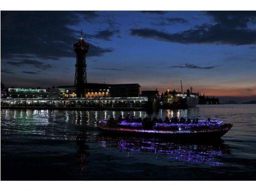 【福岡・博多】福岡の風景・夜景が美しい!博多湾ナイトクルージング(45分)の紹介画像