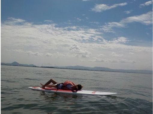 【滋賀・琵琶湖・SUP】初めての方向け!綺麗な施設で気軽にSUP体験♪の紹介画像