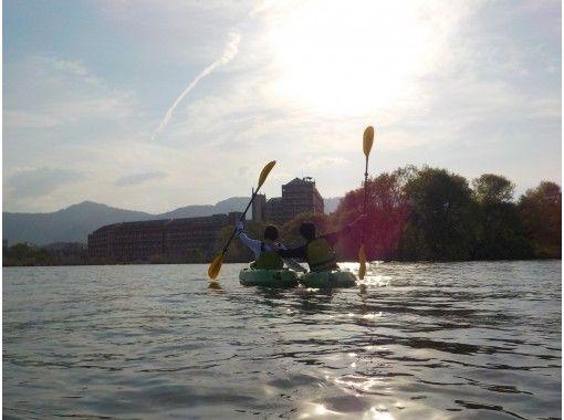 [Shiga / Lake Biwa / Kayaking] Experience kayaking at Lake Biwa, which is the best in Japan ♪ Two-seater is also OK!の紹介画像