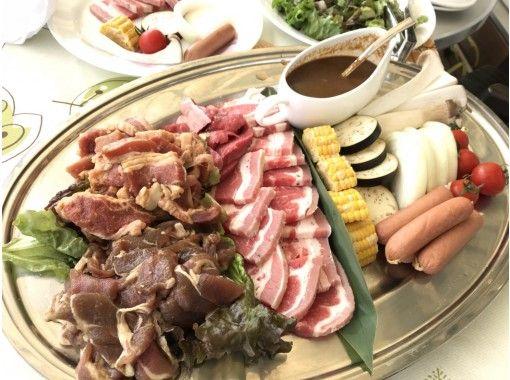 【滋賀・琵琶湖】マリーナ2階カフェテラスにてBBQプラン!