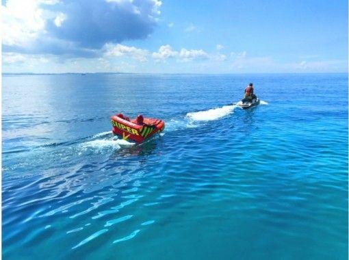 """GoTo Travel Coupon Target Store"" [From Naha, Okinawa] Held around Chibishi Parasailing & Marine Sports 2 points (Ocean Plan)の紹介画像"