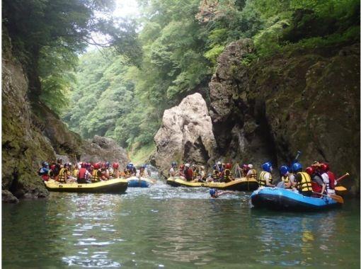 【山梨・大月】大月・桂川ラフティングツアーの紹介画像