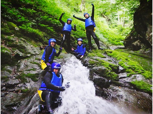 [Gunma / Minakami Canyoning] 2021 Spring / Summer / Corona Countermeasures Perfect contact with nature! <Chartered / free pick-up available> Recommended for families, groups and couplesの紹介画像