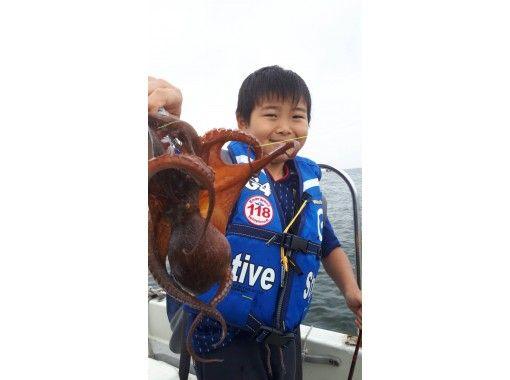 [東京/羽田]歡迎初學者和女性!輕鬆誘餌釣魚★包船♪180分鐘可以將釣到的魚引入商店の紹介画像