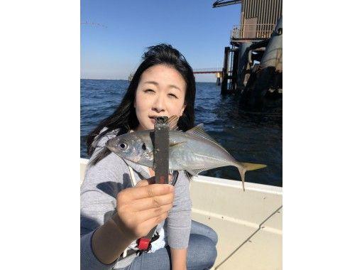 【東京・羽田】激安!「アジ」貸し切り船★5名までOK ♪180分  釣った魚を食べれるお店紹介可!